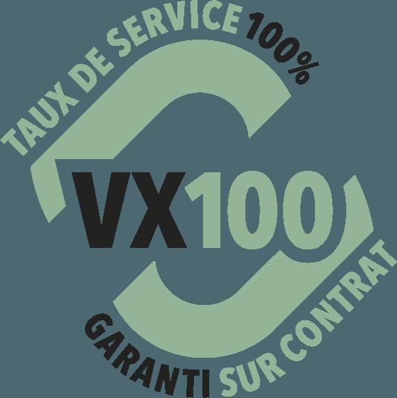 VX100 Verretubex logo