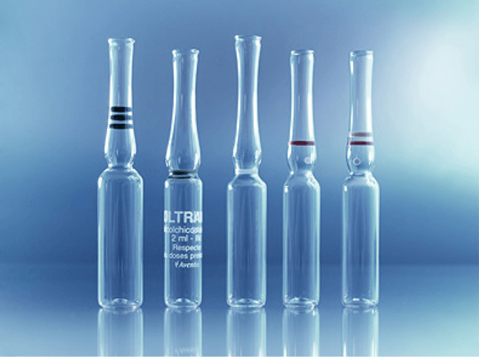 Straight-steam ampoules