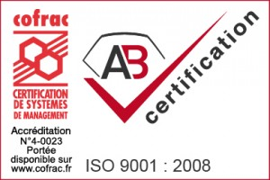 Certifications ISO 9001 et ISO 15378 téléchargeables